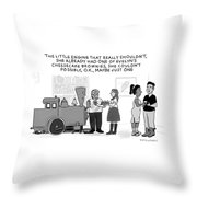 The Little Engine Throw Pillow