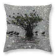 The Mangrove Throw Pillow