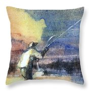 The Mend Throw Pillow