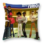The Message Throw Pillow by Nelson  Dedos Garcia