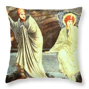 The Morning Of The Resurrection 1882 Throw Pillow