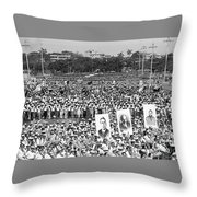 The Move East Throw Pillow