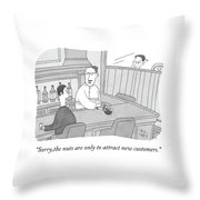 The Nuts Throw Pillow