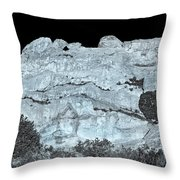 The One Who Falls And Gets Up Is Stronger Than The One Who Never Fell. Throw Pillow