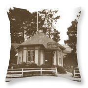 The Pacific Grove Museum Was Founded In 1883. Throw Pillow by California Views Archives Mr Pat Hathaway Archives