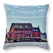 The Paint Factory, Gloucester, Massachusetts Throw Pillow