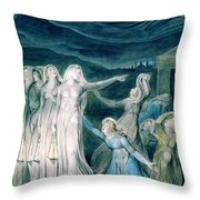 The Parable Of The Wise And Foolish Virgins - Digital Remastered Edition Throw Pillow
