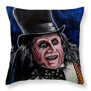 The Penguin Throw Pillow