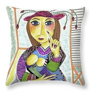 The Pointer Throw Pillow