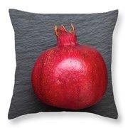 The Pomegranate Fruit Throw Pillow