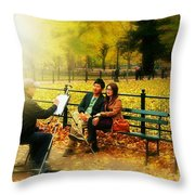 The Portraiture Throw Pillow
