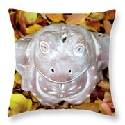 The Prince Of Fall Throw Pillow