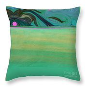 The Quantum Storm Throw Pillow