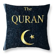 The Quran Throw Pillow