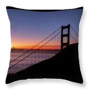 The Rising Of Joy- Throw Pillow by JD Mims