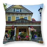 The Rivertown Inn Stillwater Minnesota Throw Pillow
