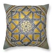 The Roman Mandala At Tomis Throw Pillow