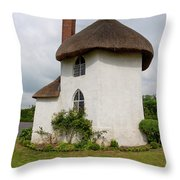 The Roundhouse Aged Throw Pillow