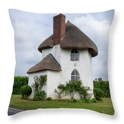 The Roundhouse Throw Pillow