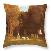 The Sacred Grove 1886 Throw Pillow