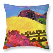 The Sacred Mountain - Digital Remastered Edition Throw Pillow