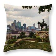 The Scout Kansas City Throw Pillow