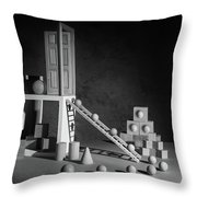 The Shape Of Things Throw Pillow