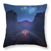 The Stars Of Locust Ridge Throw Pillow