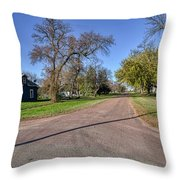 The Streets Of Bruce. Throw Pillow