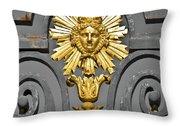 The Sun King Throw Pillow