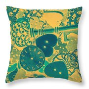 The Tme, The Place Throw Pillow
