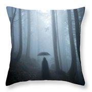 The Umbrella Throw Pillow
