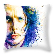 The Voice Of Seattle Throw Pillow