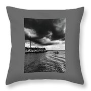 The Way Of The Cross Throw Pillow