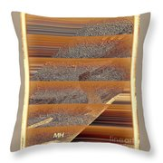 The Webs We Weave Throw Pillow