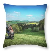The Weekend Throw Pillow