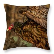 The Wing Stretch Throw Pillow by Bob Orsillo