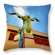 The Woofus - State Fair Of Texas Throw Pillow