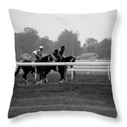 The Work Out Throw Pillow