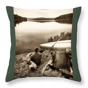 The World At Peace Throw Pillow