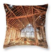 Thee Ol' Barn Throw Pillow