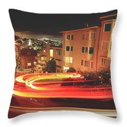 There's Magic In The Night Throw Pillow