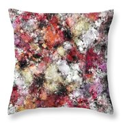 Thermal Fractures Throw Pillow
