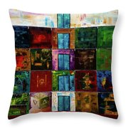 Thirty Rooms Throw Pillow
