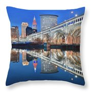 This Is Cleveland II Throw Pillow