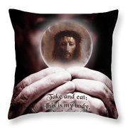 This Is My Body... Throw Pillow