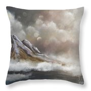 This Too Shall Pass Throw Pillow by Lois Bryan