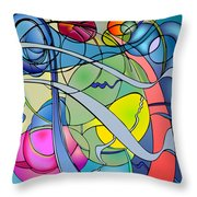 Thought Patterns #2 Throw Pillow