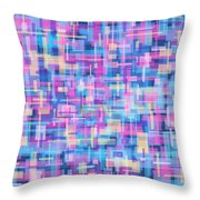 Thought Patterns #5 Throw Pillow