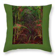 Cathedral Of Corn Throw Pillow
